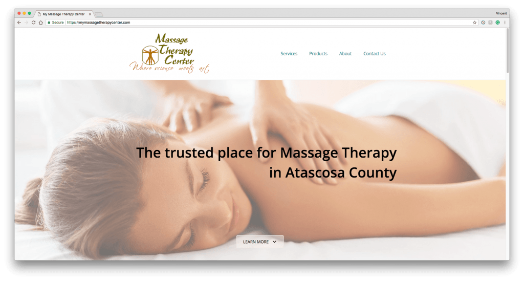 massage-therapy-center-website