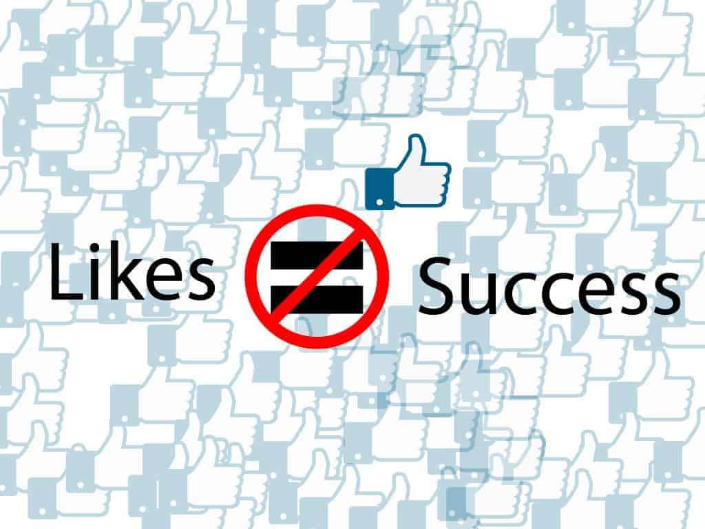 likes don't equal success